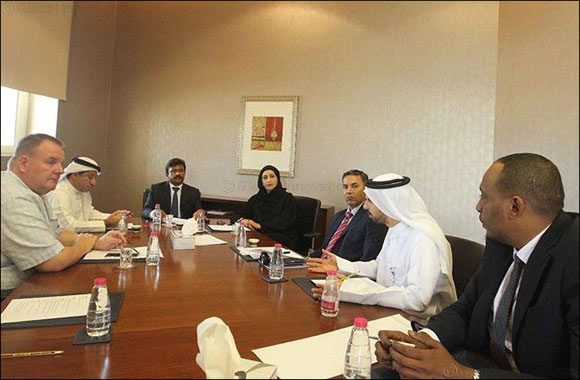 Industrial Sector's Business Group discusses Sharjah Chamber of Commerce and Industry's strategy to support industrial sector
