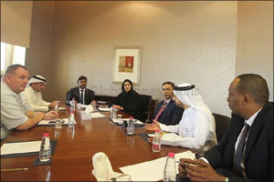 Industrial Sector's Business Group discusses Sharjah Chamber of Commerce and Industry's strategy to  ...