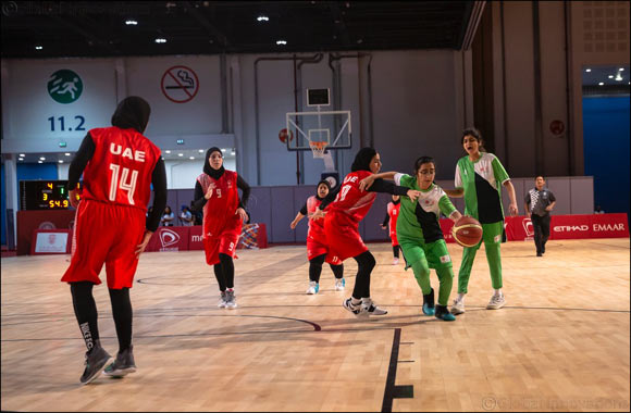 UAE Women's Basketball Teams Triumphant on Day Two of Special Olympics World Games Abu Dhabi 2019