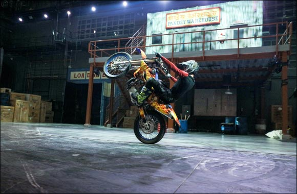 Ultimate Dabangg Stunt Show returns with thrilling new performances at BOLLYWOOD PARKS™ Dubai