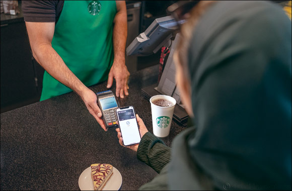 Visa partners with Starbucks & Hardee's to help promote the use of Apple Pay in KSA and UAE