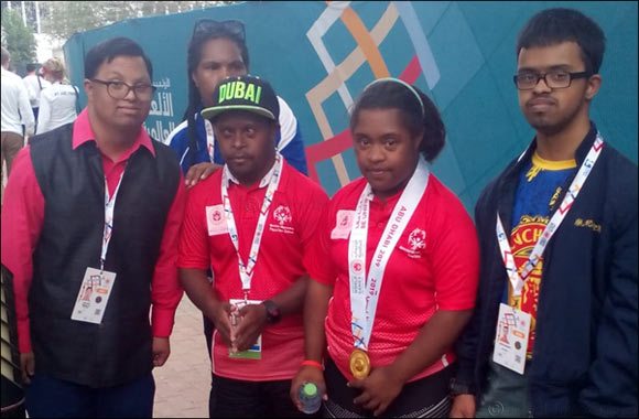 Papua New Guinea Completes Hat-trick of Shot-put Medals at World Games Abu Dhabi