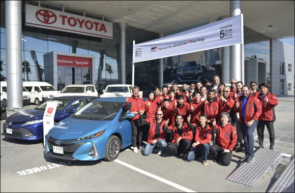TOYOTA GAZOO Racing took on UAE's unique terrain in final stage of '5 Continents Drive'