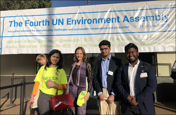 United Nations Environment Assembly - Green Hope makes an impact
