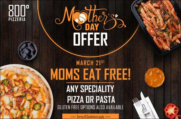 Moms Eat Free on Mother's Day
