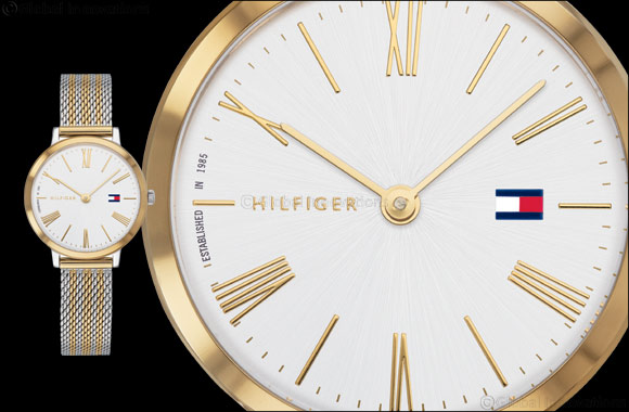 Tommy Hilfiger Two-Tone Time Collection