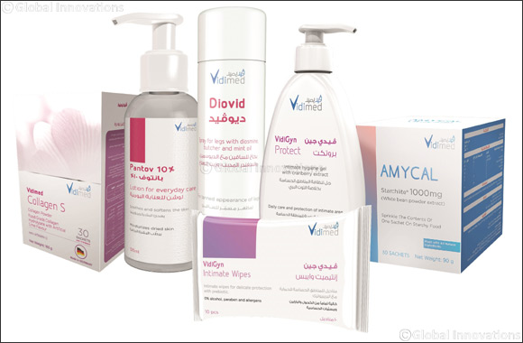 The Principals MENA introduces new exclusive range of Vidimed and Giuliani health, hygiene and cosmetic products to the Middle East market
