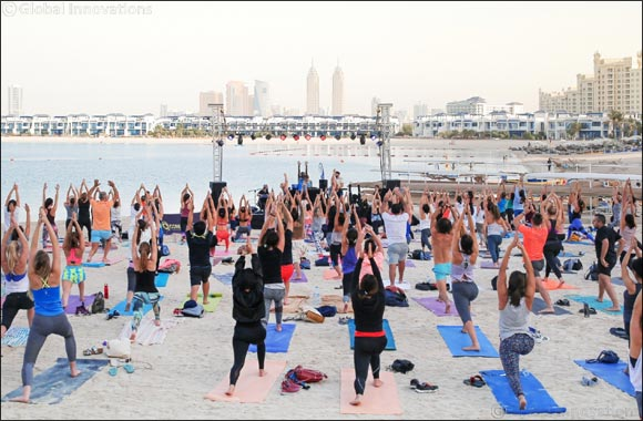 Core Beats – Dubai's favourite free fitness concert – is back at Club Vista Mare
