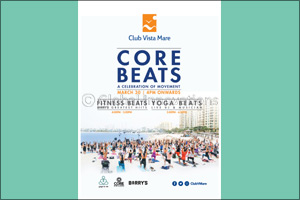 Core Beats � Dubai's favourite free fitness concert � is back at Club Vista Mare