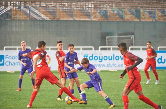 Dubai's DESC & Choueifat and Sharjah's Al Maarifa Crowned Champs of du Football Champions Season 4