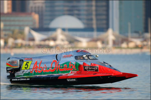 Team Abu Dhabi Primed for New Double Title Bid As F1H2O Series Returns to Saudi