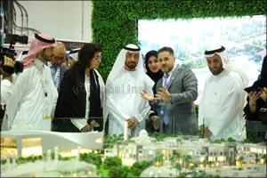 Sheikh Mohammed bin Khalifa Al Maktoum Chairman of Dubai Land Department (DLD) inaugurates Dubai Pro ...