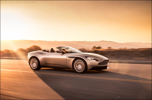 Aston Martin Db11 Volante Wins at  Middle East Car of the Year Awards