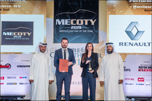 Renault Takes Top Honors at Middle East Car of the Year 2019