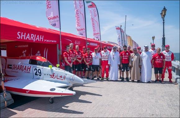SMISC board members visit Sharjah Team at Saudi Arabian Grand Prix