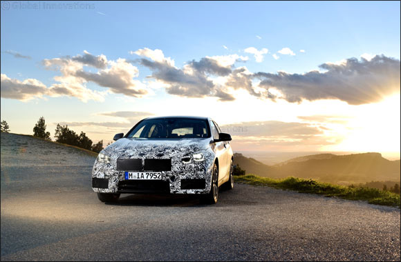 The new BMW 1 Series: final test phase in Miramas.
