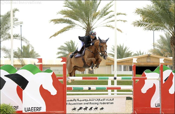 21st Emirates Show Jumping Championship 2019 Determines Top Emirati Riders
