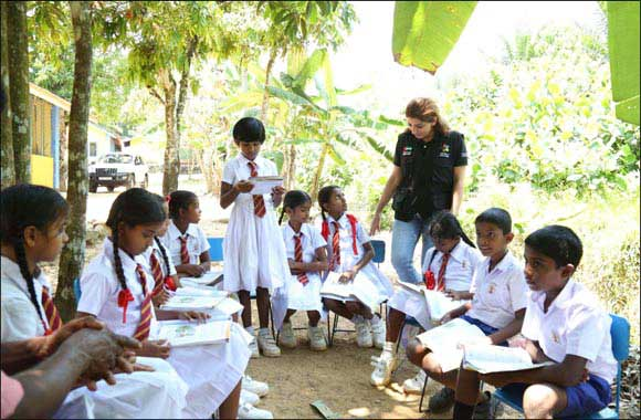 Dubai Cares scales up children's literacy program in Sri Lanka
