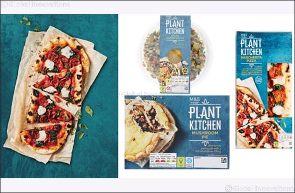 Marks & Spencer Launches Game Changing New Vegan-Friendly Food Range – PLANT KITCHEN