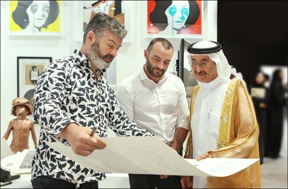 H.H. Sheikh Hasher Bin Maktoum Al Maktoum Opens World Art Dubai
