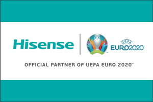 Hisense� aims higher with Global Sponsorship of UEFA EURO 2020�