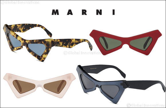 """Marni Presents the New Marni """"Spy"""" Sunglasses – the Star of the Spring/summer 2019 Campaign"""