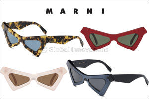 Marni Presents the New Marni �Spy� Sunglasses � the Star of the Spring/summer 2019 Campaign