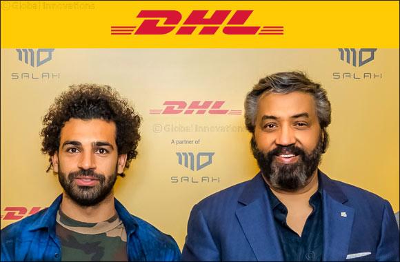 DHL Express hosts Egyptian Football Superstar Mohammed Salah in Dubai