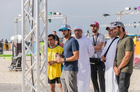 His Highness Sheikh Hamdan Inspires Competitors as 12 UAE Teams Ready for Ultimate Gov Games Finale