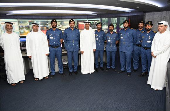 Director of Dubai Customs makes evening tour to Customs Declaration Management and Control Room