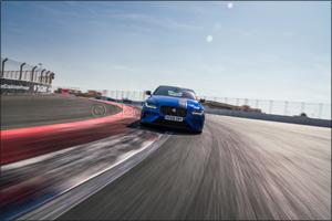 Jaguar XE  SV Project 8 Sets Dubai Autodrome Lap Record