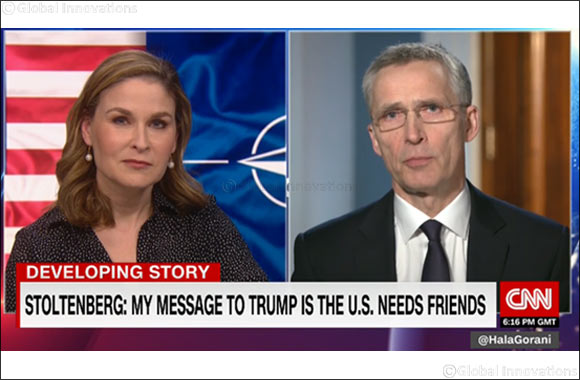 "Secretary General of NATO tells CNN: ""The United States needs friends"""