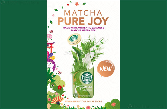 Experience a Moment of Pure Joy With Starbucks First Ever Frappuccino Matcha Tea
