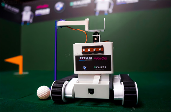 AI GolfBots hit the Fairway for ParOne STEAMathalon