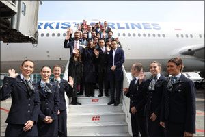 Following the �Great Move', first flight from Istanbul Airport was to the Ankara, just like 86 years ...