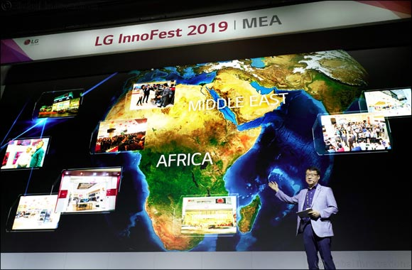 LG's Premium Living Space Solutions Impress at Innofest MEA 2019