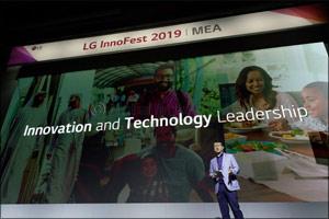 LG's Premium Living Space Solutions Impress at Innofest MEA 2019