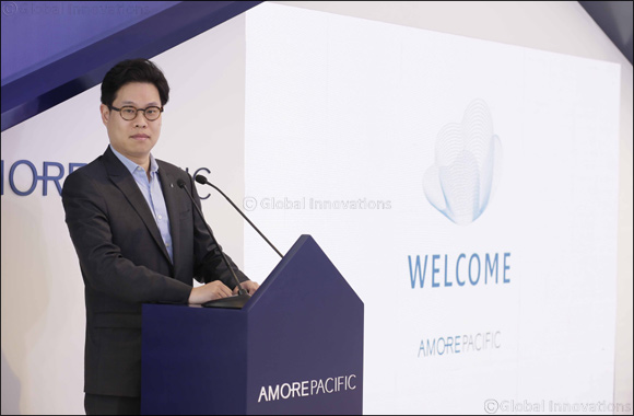 Amorepacific Group holds an event for its 1st anniversary in the Middle East