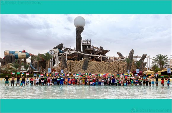 "Yas Waterworld earns Guinness World Records title for ""Most Nationalities in a Swimming Pool"""