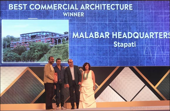 Malabar Group Headquarters (M HQ) wins the Forbes India Design Awards 2019