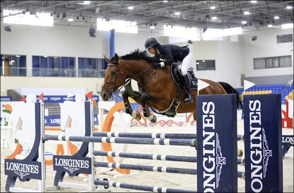 16th Week of Show Jumping Seasons Sees Young Horses Final Hosted in Sharjah