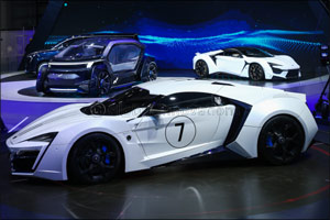W Motors and ICONIQ Motors reveal their first Autonomous Vehicle �MUSE�  to the world at Auto Shangh ...