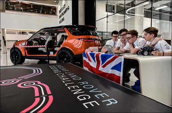 Jaguar Land Rover Finds the Teenagers Writing the Code for a Self-driving Future