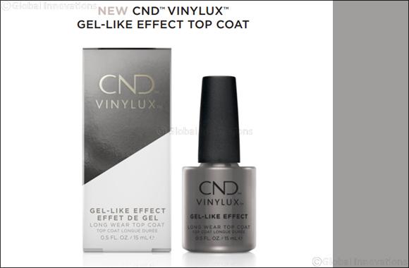 New CND™ Vinylux™ Gel-Like Effect Top Coat