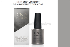 New CND� Vinylux� Gel-Like Effect Top Coat
