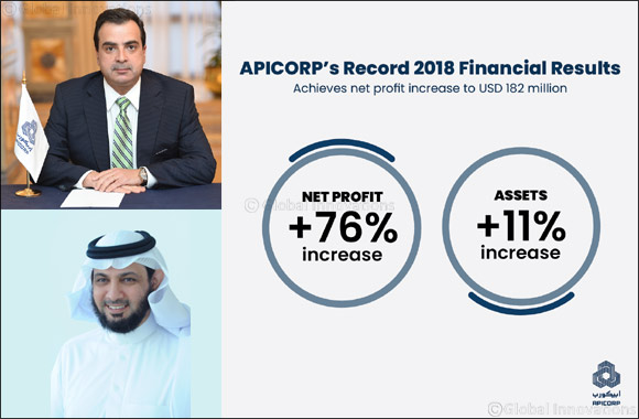 APICORP Reports 2018 Record Financial Year with net profit increase to USD182m