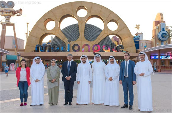 World Tourism Organisation (UNWTO) and Ministry of Economy representatives visit Dubai Parks and Resorts