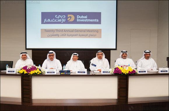 Dubai Investments distributes 10% cash dividend