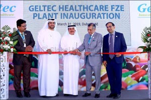 Ministry of Health & Prevention inaugurates new Geltec manufacturing plant established with an inves ...