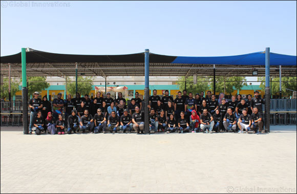 As part of Volunteer Emirates Dubai Cares gives a makeover to Sharjah's National Charity Schools for Girls